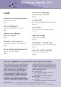 Kirchberger Impulse 2007 - BruderhausDiakonie - Seite 2