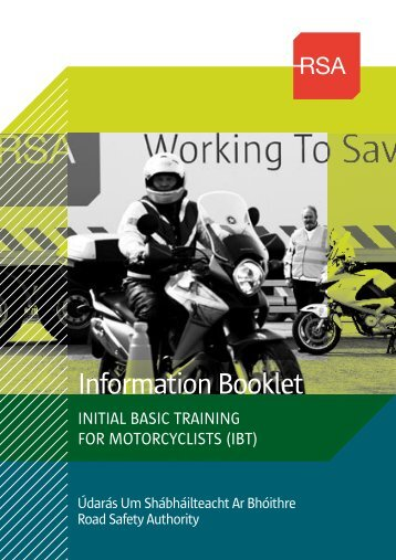 IBT Information Booklet (935kB) - Road Safety Authority