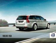 Κατεβάστε το e-brochure του V50 εδώ. - Volvo