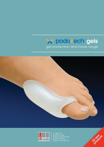 Gel Protection And Insole Range - Algeos