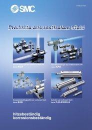Produkte aus rostfreiem Stahl - SMC