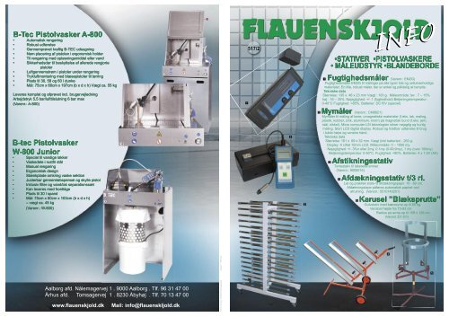B-tec Pistolvasker - C. Flauenskjold A/S