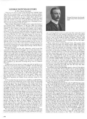 George Downham Story