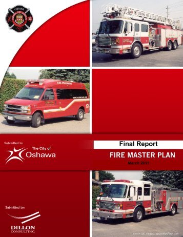 Fire Master Plan - City of Oshawa