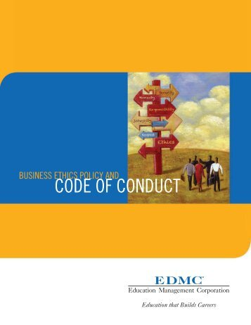 Business Ethics Policy and Code of Conduct
