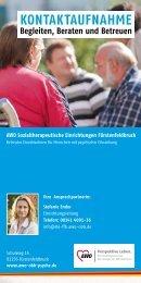 Betreutes Einzelwohnen - AWO Angebote für Senioren in Oberbayern