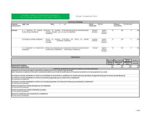 K027 Primer trimestre 2013. - Issfam