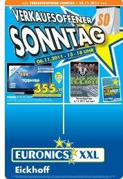VERKAUFSOFFENER SONNTAG + 06.11.2011 - Briloner Anzeiger