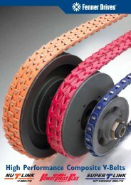 High Performance Composite V-Belts - TYMA - Home Page