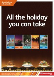 Great holiday offers inside - Queensland Rail
