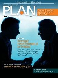 PLAN 2011-5 - Ordre des ingénieurs du Québec