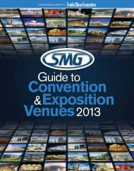TSE's SMG 2013 Guide to Convention and Exposition Venues