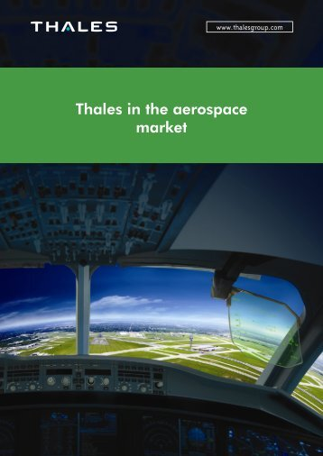 Thales in the aerospace market - Thales Group