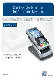Produktinformation VX820 DUET - B+S Card Service GmbH