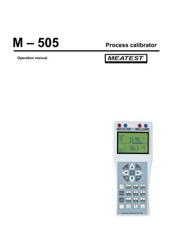 fluke 725 multifunction process calibrator manual
