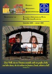 Gemeindebrief DEZ 2008-JAN 2009.DOC - Zionsgemeinde