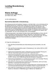 Kleine Anfrage - DIE LINKE. Jürgen Maresch