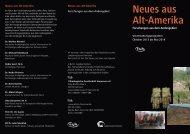 Neues aus Alt-Amerika - ethno-hannover.de