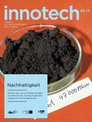 Innotech 02/2013 - Innovationspark Wuhlheide Köpenick
