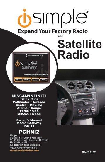 ISNI11 Instruction Manual - PAC Audio