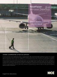NiceVison Intrusion Detection Brochure - Voice Products, Inc.