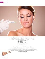 TEINT ! - Dr Alexandra Turell / Médecine esthétique, laser, nutrition