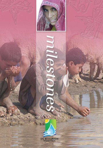 Jal Bhagirathi's flagship project - Solutions for Water platform - World ...