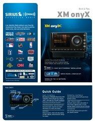 XM onyX - Pana-Pacific