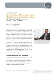 Ganzheitliches Bildmanagement für Radiologie und ... - visus