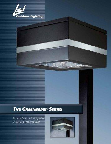 THE GREENBRIAR® SERIES - LSI Industries Inc.