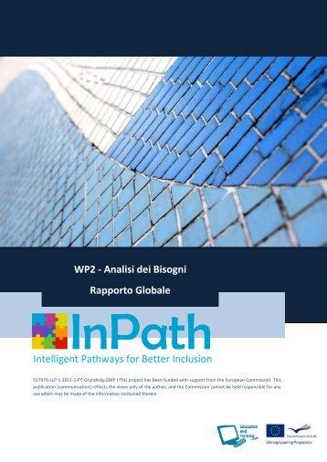 Report della analisi globale dei bisogni - Sociedade Portuguesa de ...