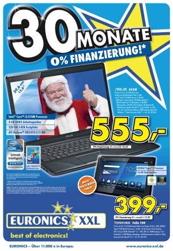 0% FINANZIERUNG!* - Euronics Burghausen