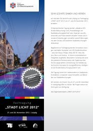 """""""Stadt Licht 2012"""" - Caralux LED"""