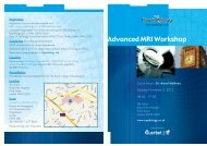 Advanced MRI Workshop - Guerbet