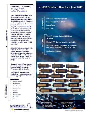 Telemakus Short Form Product Brochure - RfMW