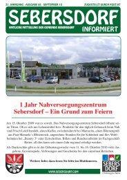 Sebersdorf Zeitung5.indd - Gemeinde Sebersdorf