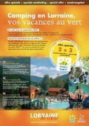 vos vacances au vert - Tourisme en Lorraine