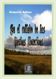 En el collado de las hierbas florecidas- 4° libro de cuentos de Roberto Attias
