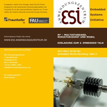 embedded systems initiative - embedded world