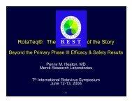 Penny Heaton - Sabin Vaccine Institute