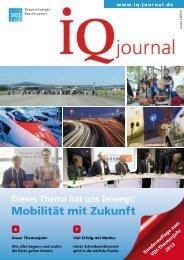 Mobilität mit Zukunft - VDI Braunschweiger Bezirksverein eV
