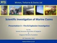 Fire & Explosion Investigation - General Insurance Association Of ...