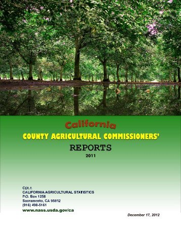 California County Agricultural Commissioners' Reports, 2011