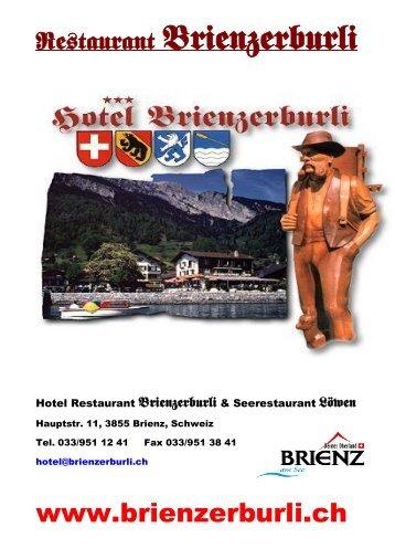 BEO Beef - Hotel Brienzerburli