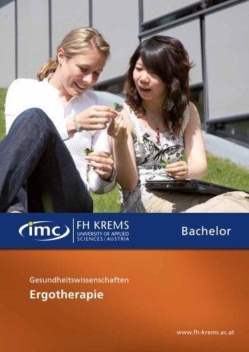 Folder - Bachelor - IMC Fachhochschule Krems GmbH