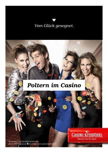 Folder Poltern ab € 29,- (pdf, 185 KB) - Casinos Austria