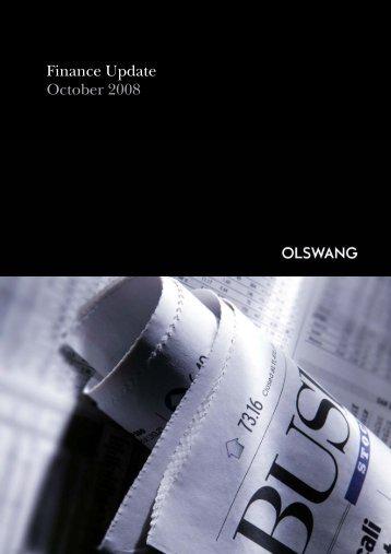 Finance Update October 2008 - Olswang