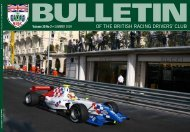 'i'm one of those' - British Racing Drivers' Club