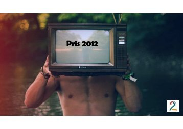 Pris 2012 med 3 993 000 univers - Tv2
