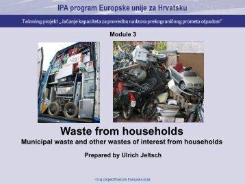 Household waste - hr